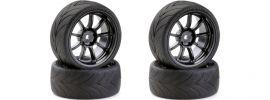 CARSON 500900616 Drift Räder-Set 9 Speichen schwarz 4 Stück online kaufen