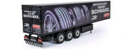 CARSON 500907311 Fulda Kofferauflieger mit Licht | RC LKW Anhänger RTR 1:14 online kaufen