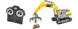 CARSON 500907330 Raupenbagger mit Greifer (Clean) 2.4GHz RC Baumaschine RTR 1:12 online kaufen