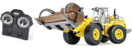 CARSON 500907331 Radlader mit Holzgreifer (Clean) 2.4GHz RC Baumaschine RTR 1:14 online kaufen