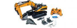 CARSON 500907413 Metall Raupenbagger 23-Kanal RTR | RC Baumaschine Komplett-RTR 1:14 online kaufen