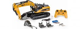 CARSON 500907423 Metall Raupenbagger 23-Kanal RTR | RC Baumaschine Komplett-RTR 1:14 online kaufen