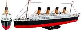 COBI 1916 RMS Titanic | 2840 Teile | Schiff Baukasten 1:300 online kaufen