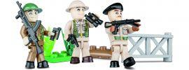 COBI 2028 Britische Soldaten mit Zubehör | Militär Baukasten online kaufen