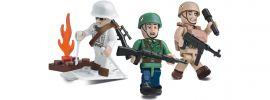 COBI 2031 Deutsche Elite-Truppen mit Zubehör   Militär Baukasten online kaufen