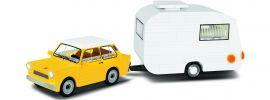 COBI 24590 Trabant 601 + Wohnwagen | Auto Baukasten online kaufen