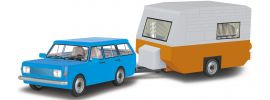 COBI 24592 Wartburg 353 Tourist + Wohnwagen | Auto Baukasten online kaufen