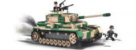 COBI 2508A Pz.Kpfw.IV Ausf. F1/G/H | Panzer Baukasten online kaufen