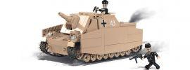 COBI 2514 Sd.Kfz.166 Sturmpanzer IV Brummbär | Panzer Baukasten online kaufen