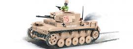 COBI 2527 DAK Sd.Kfz.121 Panzer II Ausf.F | Panzer Baukasten online kaufen