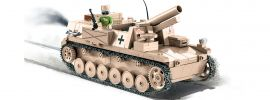 COBI 2528 DAK 15cm sIG auf Pz.Kpfw.II | Panzer Baukasten online kaufen