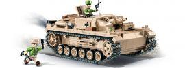 COBI 2529 DAK Sturmgeschütz III Ausf. D | Panzer Baukasten online kaufen