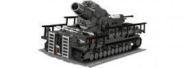 COBI 2530 60cm Mörser Karl Gerät 040   Militär Baukasten online kaufen