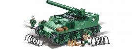 COBI 2531 M12 GMC 155mm | Panzer Bausatz online kaufen