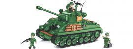 COBI 2533 M4A3 Sherman (Easy-Eight)   Panzer Baukasten online kaufen