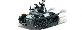 COBI 2534 Sd.Kfz. 101 Pz.Kpfw.I Ausf.A (1939)   Panzer Baukasten online kaufen