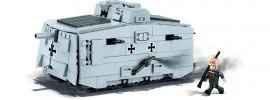 COBI 2982 Sturmpanzerwagen A7V | Panzer Baukasten online kaufen