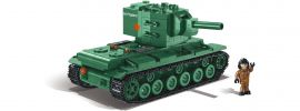 COBI 3039 Russischer KV-2 | World of Tanks | Panzer Baukasten online kaufen