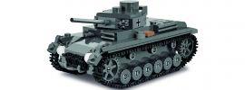 COBI 3062 Pz.Kpfw.III Ausf. J | Word of Tanks | Panzer Baukasten 1:48 online kaufen