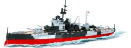 COBI 3082 H.M.S. Warspite | World of Warships | Schiff Baukasten 1:300 online kaufen