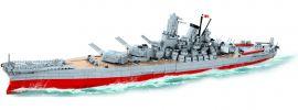 COBI 3083 Schlachtschiff Yamato | World of Warships | Schiff Baukasten 1:300 online kaufen
