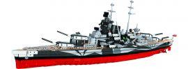 COBI 3085 Schlachtschiff Tirpitz | World of Warships | Schiff Baukasten 1:300 online kaufen