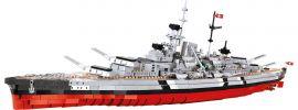 COBI 4810 Schlachtschiff Bismarck | Schiff Baukasten 1:300 online kaufen