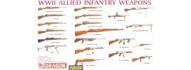 DRAGON 3815 Infanteriewaffen der Alliierten | Militaria Bausatz 1:35 online kaufen