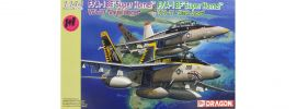 DRAGON 4618 F/A-18E VFA-27 + F/A-18F VFA-41 Flugzeug Combo Bausatz 1:144 online kaufen