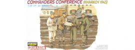 DRAGON 6144 Kommandant Konferenz Kharkov 1943   Militaria Bausatz 1:35 online kaufen