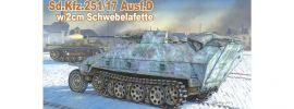 DRAGON 6292 Sd.Kfz. 251/17 Ausf.D Schwebelafette | Militaria Bausatz 1:35 online kaufen