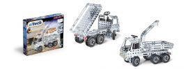 eitech 00301 Metallbaukasten LKW mit Kipper und Ladekran | 340 Teile | Construction Serie online kaufen
