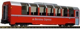 Pullman 36363 Panoramawagen BEX IIm RhB Bps 2505 BERNINA rot | Spur G online kaufen