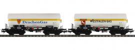 Pullman 36530 Gas-Kesselwagen Set ZAG 620 | Westfalen Gas | DC | Spur H0 online kaufen