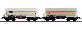 Pullman 36531 Gas-Kesselwagen Set ZAG 620 | GATX/VTG | DC | Spur H0 online kaufen