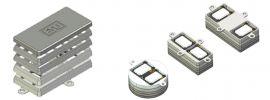 ESU 50340 Lautsprecherset Dual 11x15mm Modulares Schallkapselset   Spur H0 online kaufen