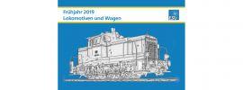 ESU 52962 Lokomotiven Frühjahr 2019 deutsch DIN A4 online kaufen