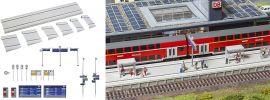 FALLER 120202 Moderner Bahnsteig mit Zubehör Bausatz Spur H0 online kaufen