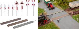 FALLER 120243 Unbeschrankter Bahnübergang Bausatz 1:87 online kaufen