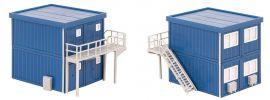 FALLER 130134 Baucontainer blau 4 Stück Bausatz 1:87 online kaufen