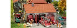 FALLER 130162 Feuerwehrgerätehaus 3ständig Bausatz Spur H0 online kaufen