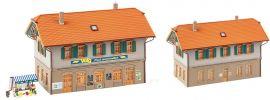 FALLER 130595 Wohnhaus mit Dorfladen Bausatz Spur H0 online kaufen