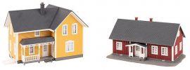 FALLER 130604 Schwedenhäuser 2 Stück Bausatz Spur H0 online kaufen