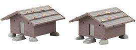 FALLER 130636 Zwei Heustadel | Bausatz Spur H0 online kaufen