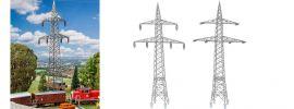 FALLER 130898 2 Freileitungsmasten (100 kV) | Zubehör Spur H0 online kaufen