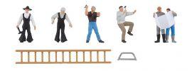 FALLER 150930 Gebäudesanierung | 6 Handwerker-Figuren | Spur H0 online kaufen