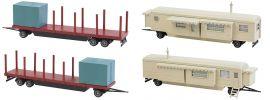 FALLER 140480 Kirmeswagen-Set I Bausatz Spur H0 online kaufen