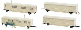 FALLER 140481 Kirmeswagen-Set II Bausatz Spur H0 online kaufen
