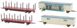 FALLER 140482 Kirmeswagen-Set III Bausatz Spur H0 online kaufen