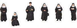 FALLER 150942 Nonnen und Pfarrer | 6 Stück | Figuren Spur H0 online kaufen